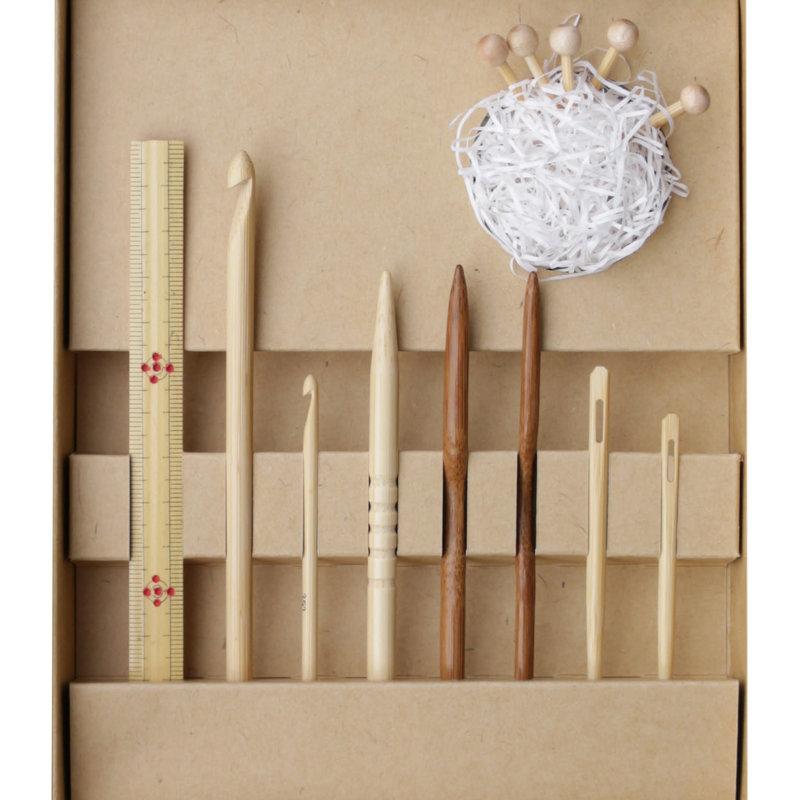 Kinki Amibari Shirotake & Koshitsu Bamboo Notions Gift Set