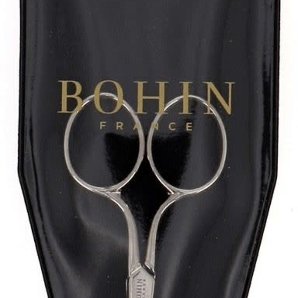 """Bohin Embroidery Scissors & Case, 3.5"""""""