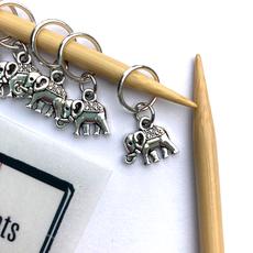 Elephant Stitch Marker Pack