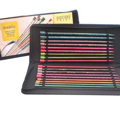 Knitter's Pride Dreamz Single Point Needle Set 25cm (10'')