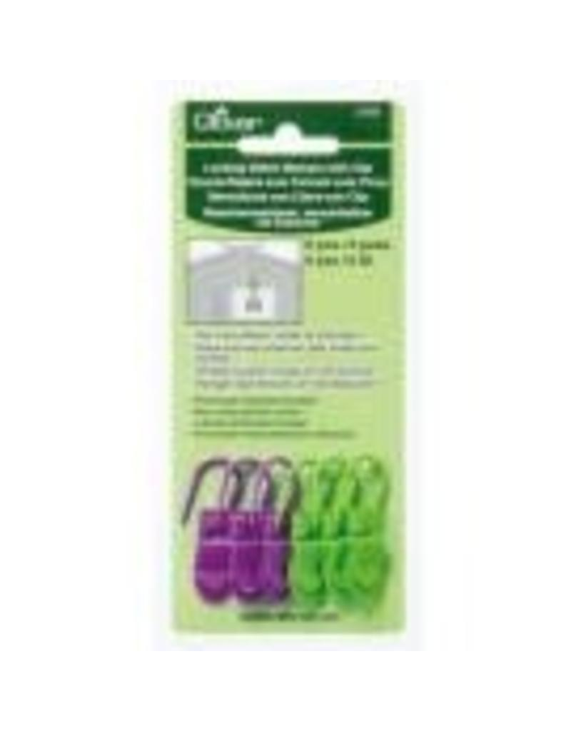 Clover Clover Locking Stitch Markers with Clip (3165)