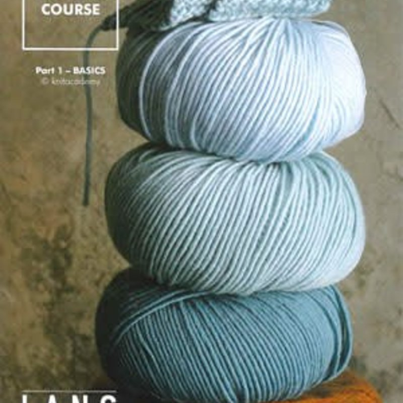Lang Yarns Wool Addict Knitting Course Part 1 - Basic Book