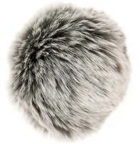 Rico Pompom 10cm - Grey/Silver