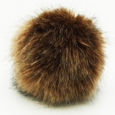 Rico Pompom 10cm - Light Brown