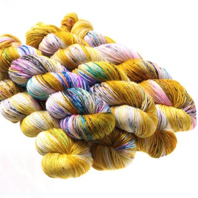 Hedgehog Fibres Sock Minis - Fool's Gold