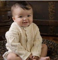 Appalachian Appalachian Baby Designs - Aran Cardigan Kit