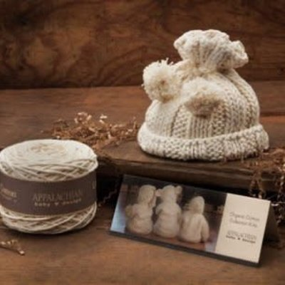 Appalachian Appalachian Baby Designs - Pom Pom Hat Knit Hat Kit