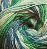 Cascade Cascade Heritage Prints - Blue Green (44)