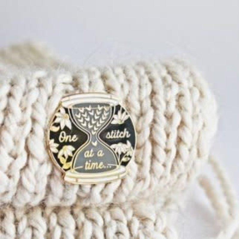 Twill & Print Twill & Print Enamel Pin - One Stitch