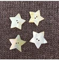 "Art of Yarn *Buttons - Star Shell, 1"", 2.5cm"