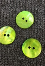 "Renaissance/Blue Moon *Buttons - Agoya, Green, 3/4"", 1.5cm"