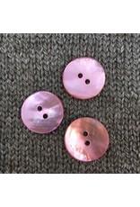 "Renaissance/Blue Moon *Buttons - Agoya, Pink, 3/4"", 2cm"