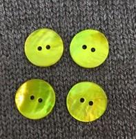 "Renaissance/Blue Moon *Buttons - Agoya, Yellow, 3/4"", 2cm"