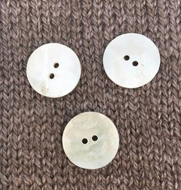 "Art of Yarn *Buttons - MOP, Round,  3/4"", 2cm"