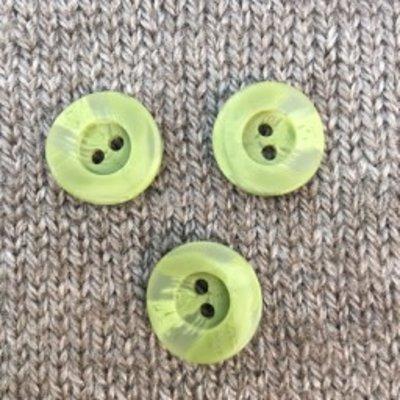 """Dill Buttons *Buttons - Polyamide, Light Green, 3/4"""", 2cm"""