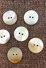 """Art of Yarn *Buttons - Mother of Pearl,  3/4"""", 2CM"""
