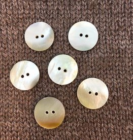 "Art of Yarn *Buttons - Mother of Pearl , 3/4"", 2CM"