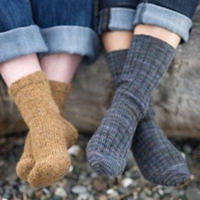 Churchmouse Yarns & Teas Basic Socks