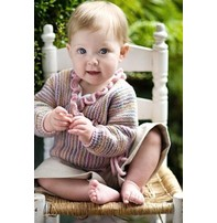 Churchmouse Yarns & Teas Churchmouse - Baby Wrap Sweater