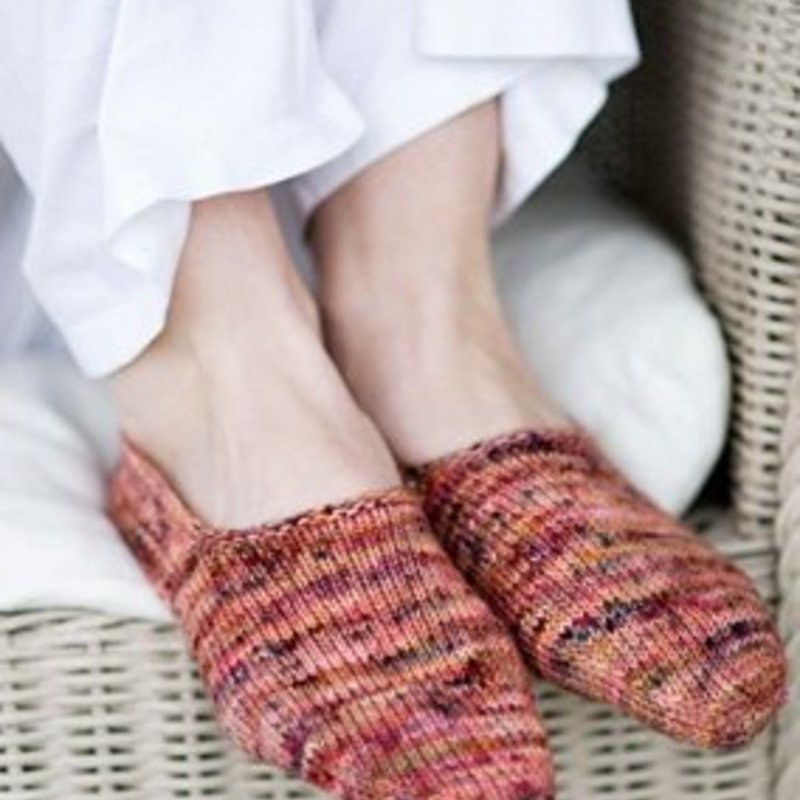Churchmouse Yarns & Teas Churchmouse - Turkish Bed Socks