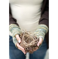 Churchmouse Yarns & Teas Churchmouse - Welted Fingerless Gloves