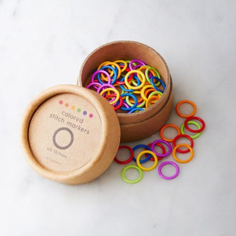 Cocoknits Coloured Ring Stitich Markers - Original