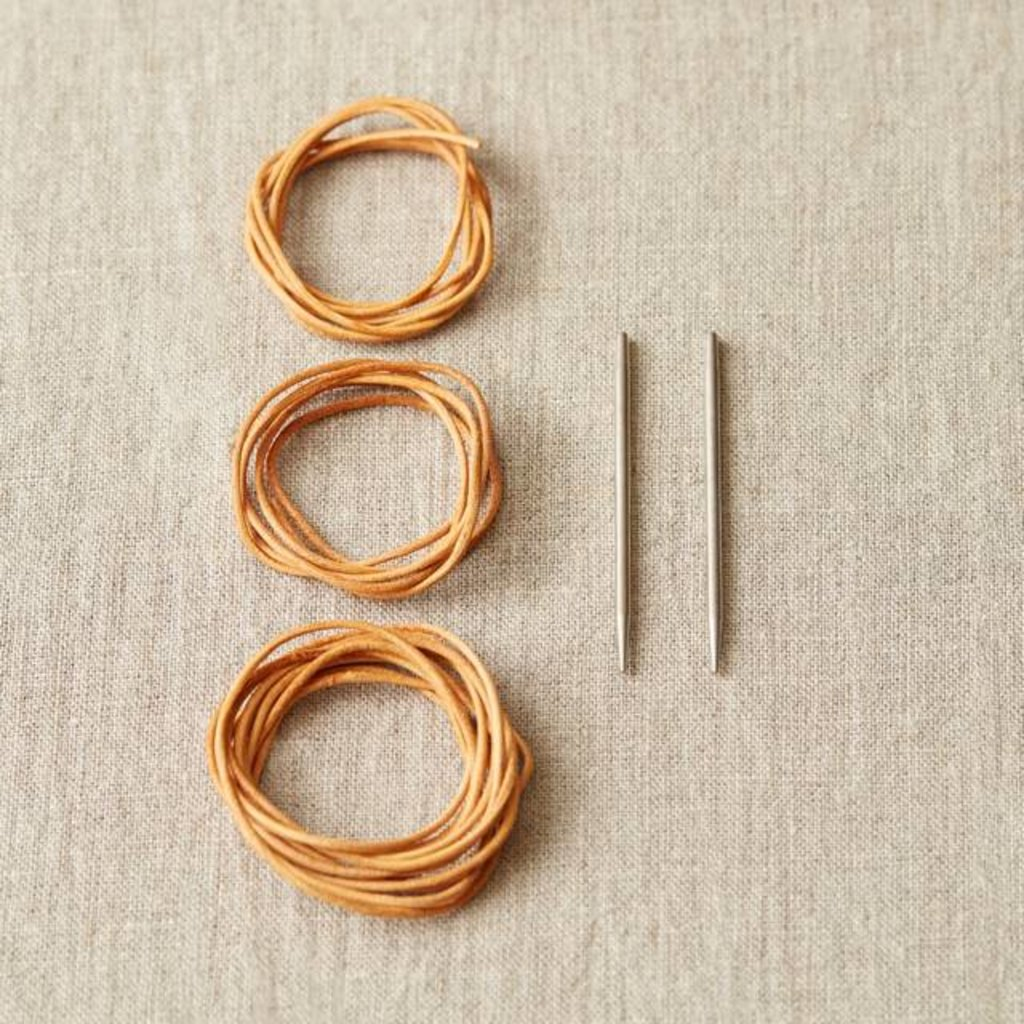 Cocoknits Leather Cord And Needle Stitch Holder