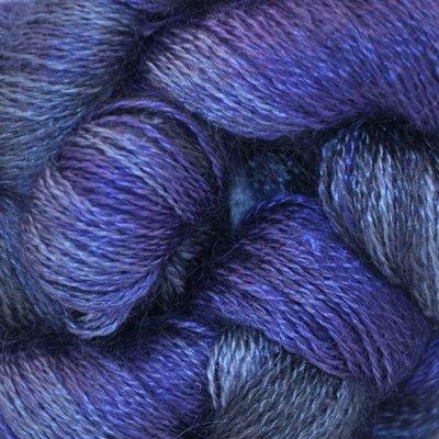 Louet Colinton Ultrafine Lace Slate Variegated