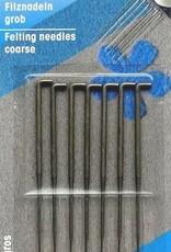Clover Felting Needles Pack Of 7 Fine Size (PRYM)
