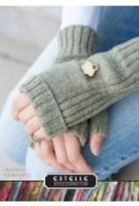 Estelle Fingerless Pocket Mitts - Free Pattern