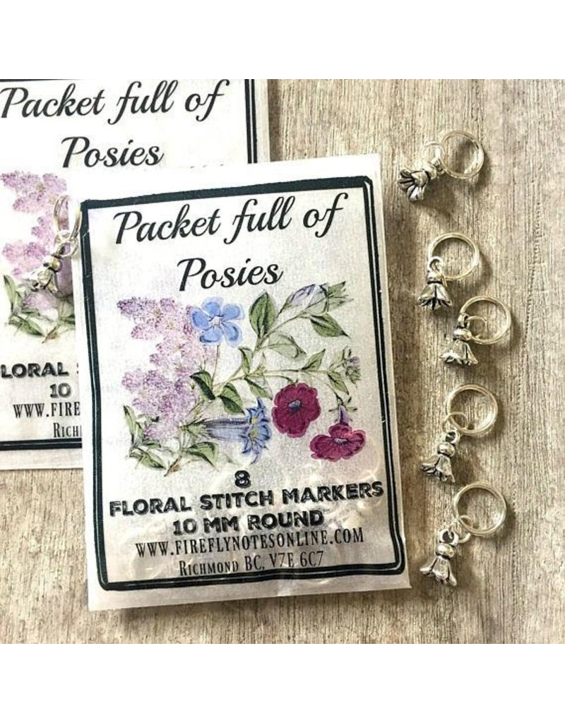 Firefly Firefly Notes - Flower Posies Stitch Markers