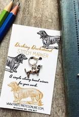 Firefly Firefly Notes Stitch Markers - Dachshund