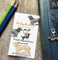 Firefly Firefly Notes Stitch Markers - Dachshund