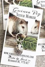 Firefly Firefly Stitch Markers - Guinea Pig