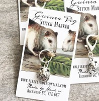 Firefly Firefly Stitch Markers - Guinea Pig