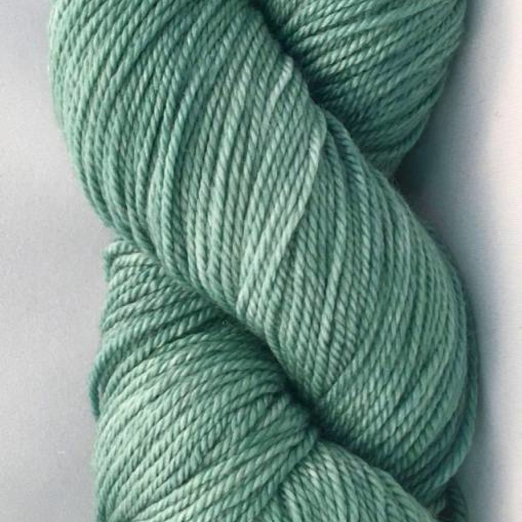 Hand Maiden Fleece Artist Tree Wool Sport - Bottle Green