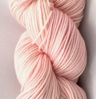 Hand Maiden Fleece Artist Tree Wool Sport - Rose