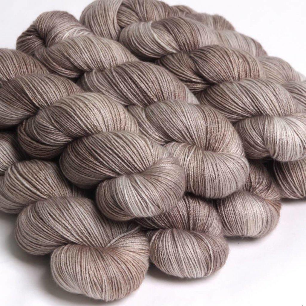 Hedgehog Fibres Sock - Stone