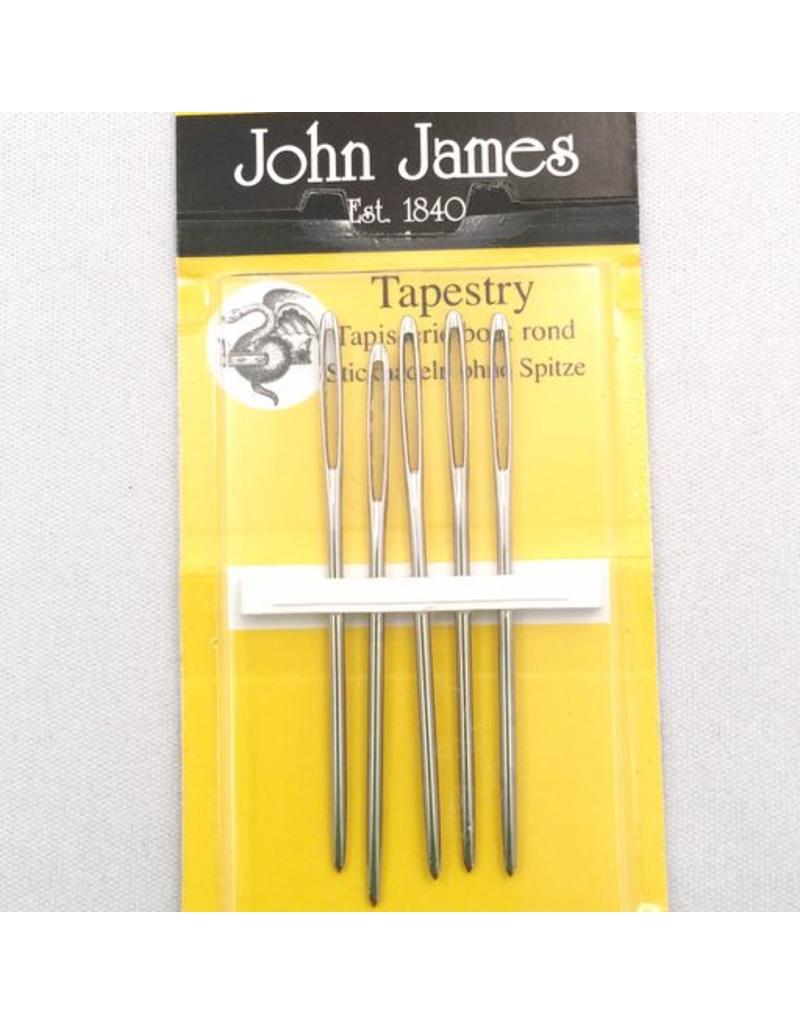 John James John James Chenille Needles, Size 18, 48.5mm Long, 6 Count