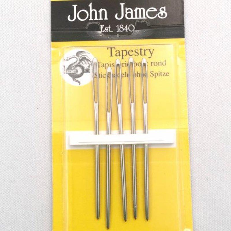 John James John James Tapestry Needles, Size 16. 5 Count 19816