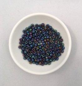 John Bead Miyuki Seed Beads - 6/0 - Black/Grey Matte
