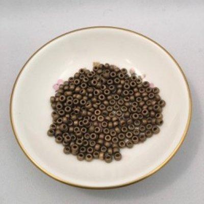 John Bead Miyuki Seed Beads - 6/0 - Dark Bronze