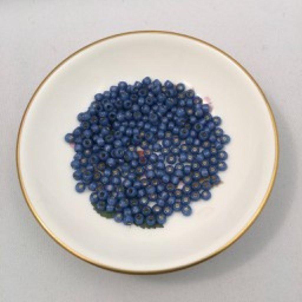 John Bead Miyuki Seed Beads - 6/0 - Denim Blue