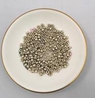 John Bead Miyuki Seed Beads - 6/0 - Galvanized Silver