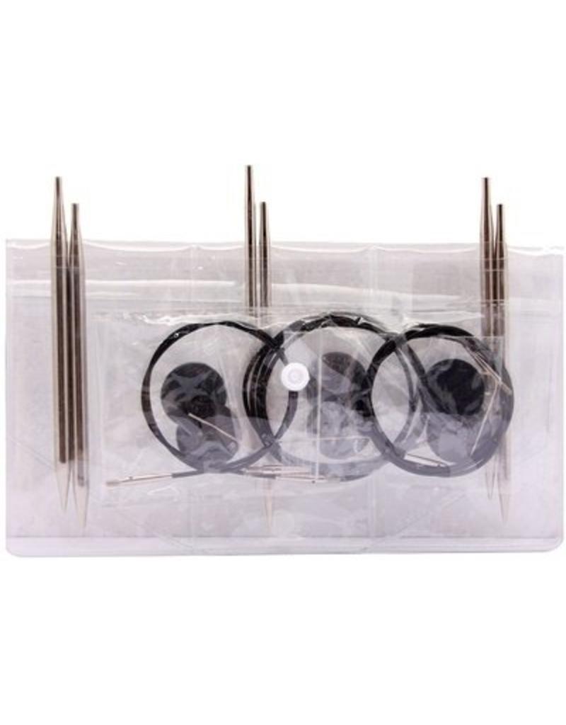 Knitter's Pride Nova Normal Length Interchangeable (IC) Needle Starter Set