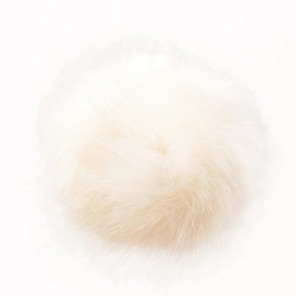 Rico Pompom 13 cm - Creamy White