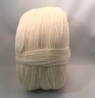 Custom Woolen Mills Prairie Wool Natural White 01