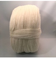 Custom Woolen Mills Prairie Wool Natural White 01