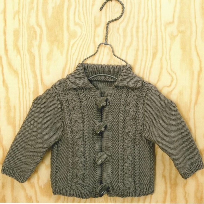 Rico Rico Baby Cabled Jacket For Boys Or Girls