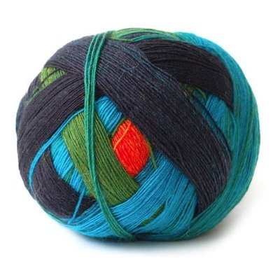 Schoppel Schoppel Yarn Zauberball Red/Or/Blue 1564
